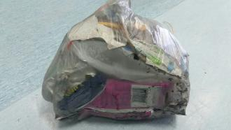 Collected Rubbish (Mainly Chip Packets)