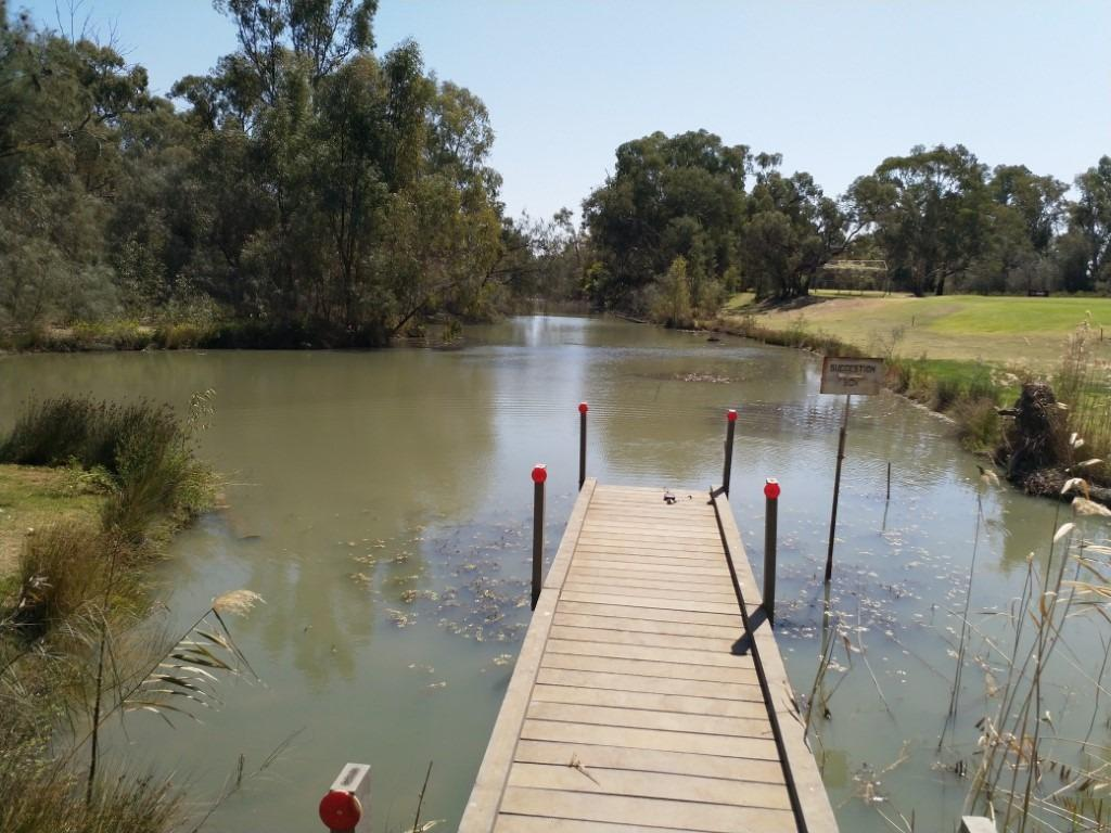 Sandilong Creek, Riverside Golf Club, Mildura